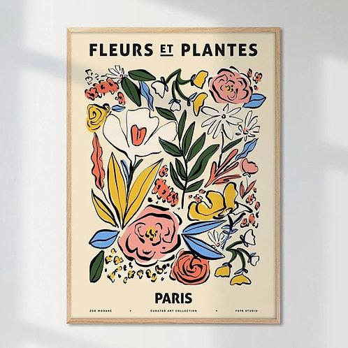 FRUITS ET PLANTES PRINTS
