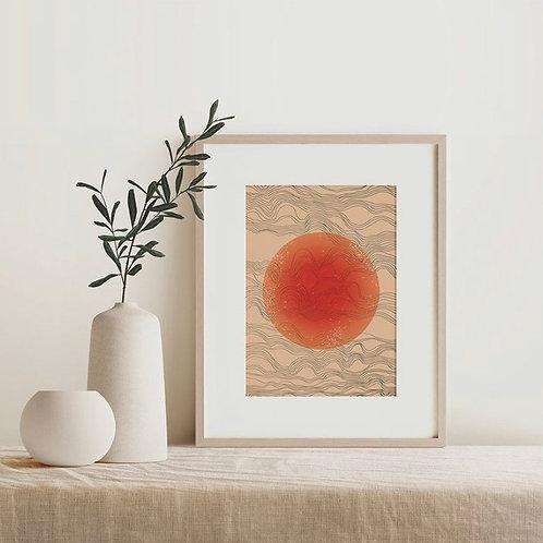 SUNRISE/SUNSET PRINTS