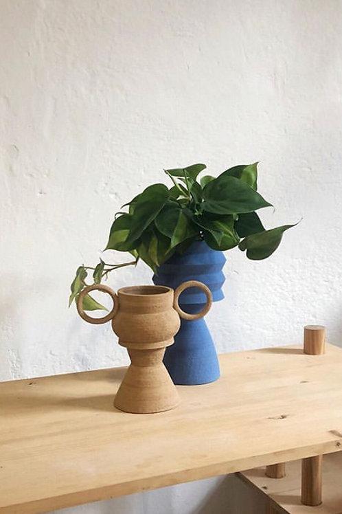 TWO-PART DECORATIVE PLANT POTS