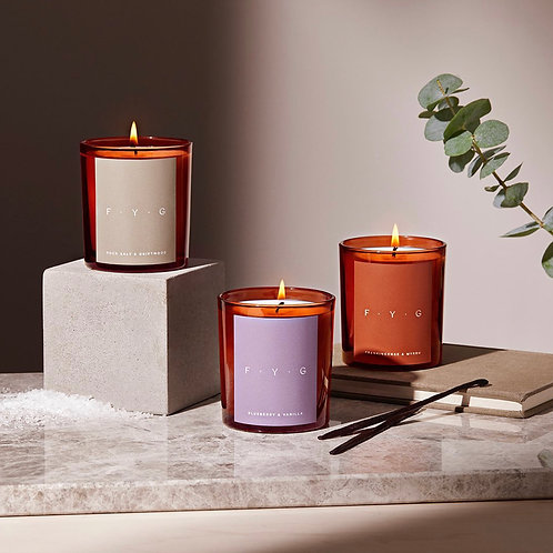 COCONUT WAX SCENTED CANDLES