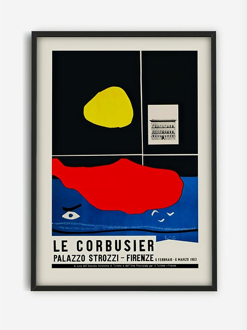 LE CORBUSIER EXHIBITION PRINTS