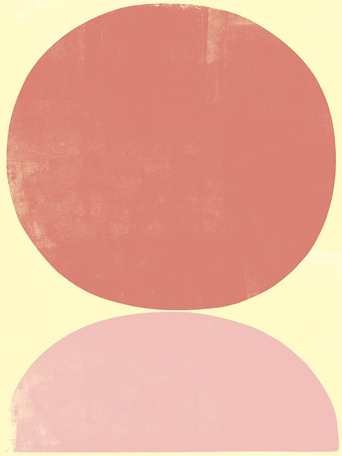 'DESERT SUN' ART PRINT