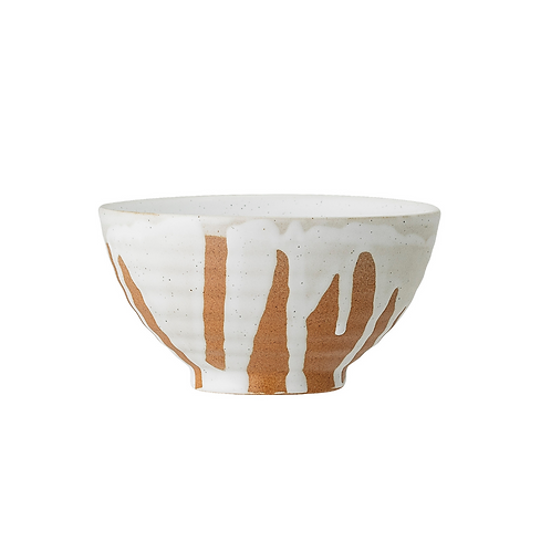 HAND PAINTED STONEWARE BOWLS
