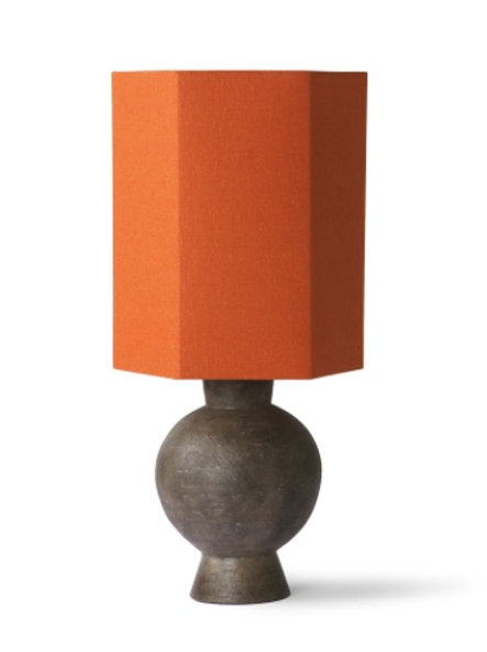 BURNT ORANGE LAMPSHADE