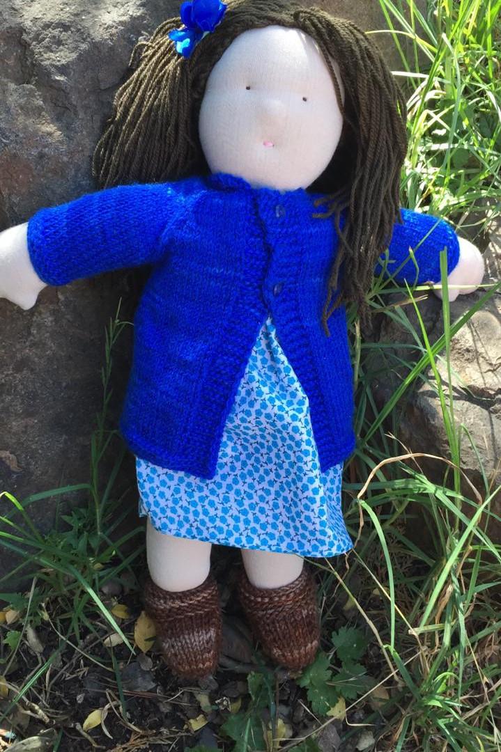 muñeca waldorf
