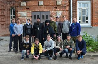 Наш монастырь посетил детский лагерь из лицея № 165 города Нижнего Новгорода.