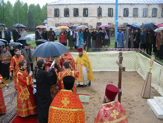 Строительство Покровского собора