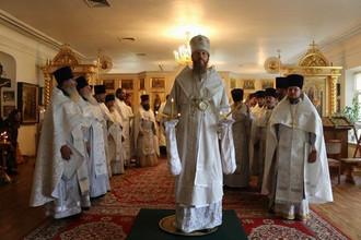 Соборное богослужение духовенства Павловского и Вачского благочиний