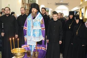 Освящение креста для колокольни строящегося Покровского храма