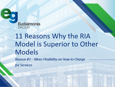 11 Reasons Why the RIA Model is Superior to Other Models:  Reason #3
