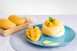 Mango Souffle Pancake