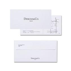Designs&Co. Logo and Invitation Design