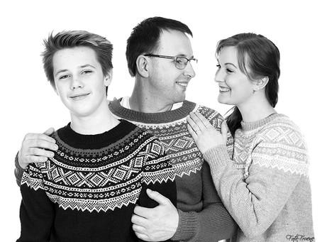 Familiefoto - Tips til klesvalg før foto