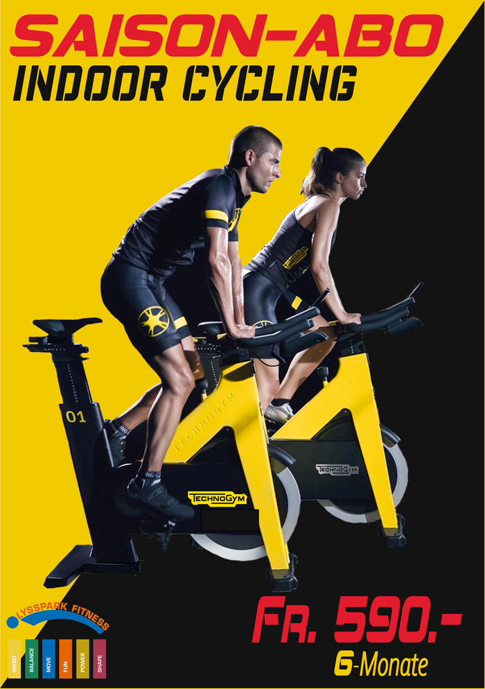 6 Monate Indoor Cycling ABO