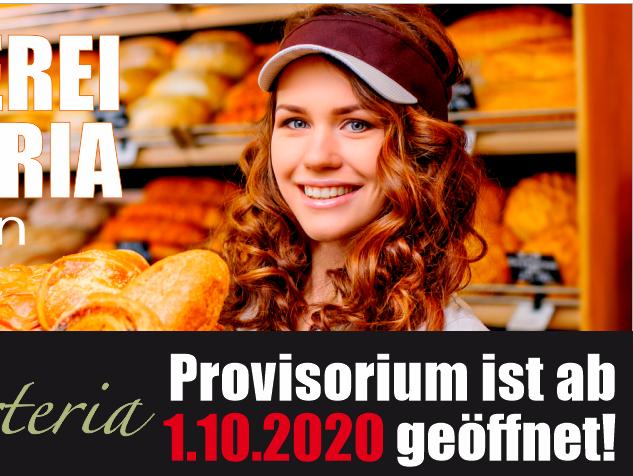 Provisorium ist ab 1.10.2020 in Hermrigen geöffnet!