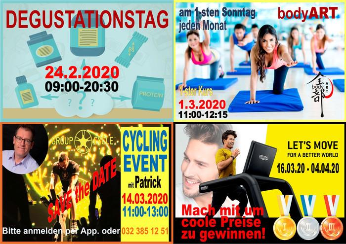 Events Februar - März 2020