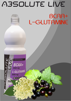 BCAA + L-GLUTAMINE  Blackcurrant-Elderflower