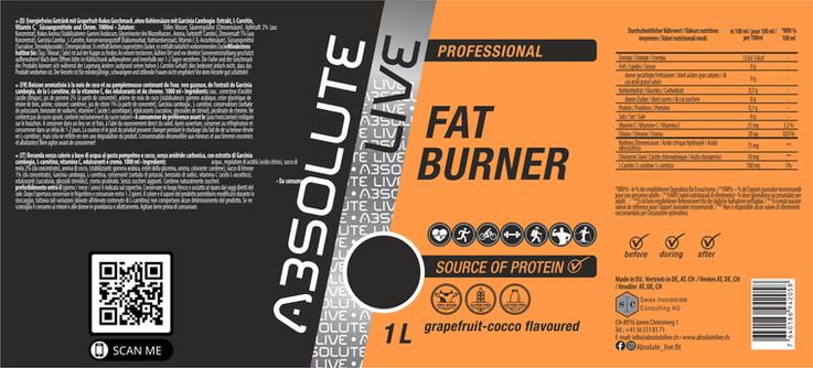 FAT BURNER Grapefruit-Cocos