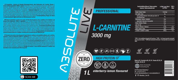 L-CARNITINE Elderberry-Lemon
