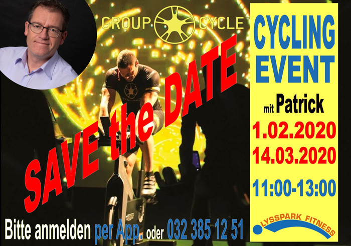 INDOOR CYCLING EVENT mit PATRICK