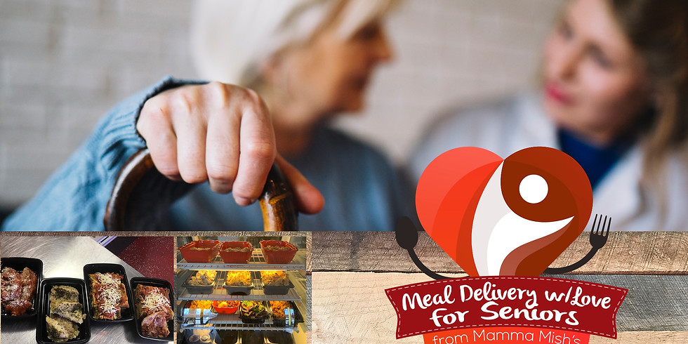 Sponsor a Meal Delivery with Love for Seniors