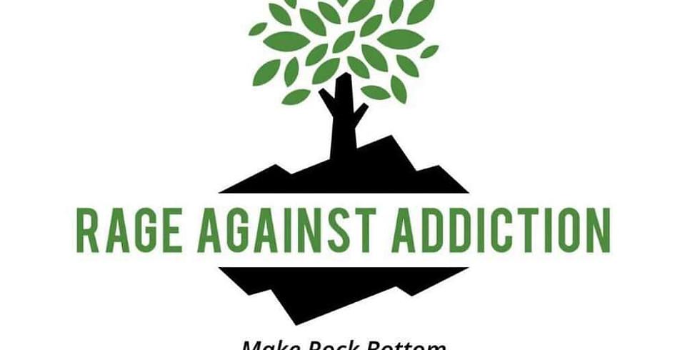 Rage Against Addiction Fundraising Dinner