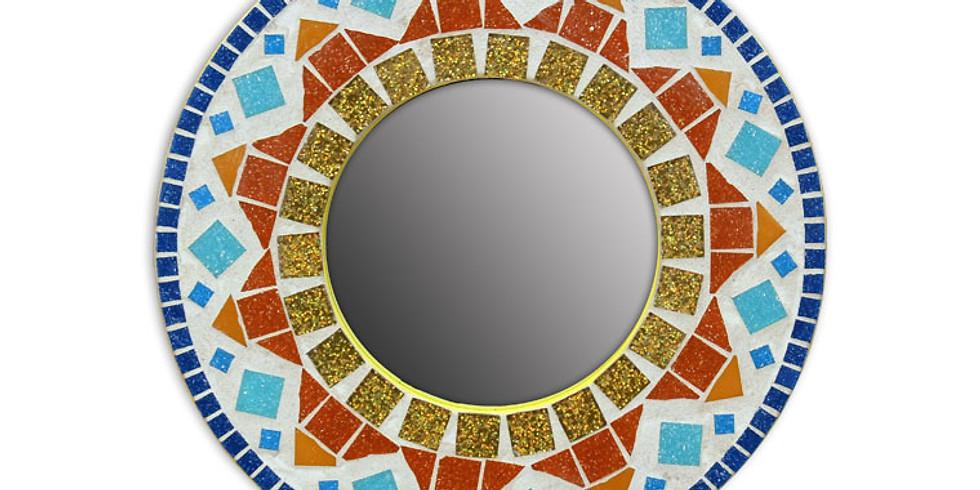 Sunburst Mosaic Mirrors - Teen Event