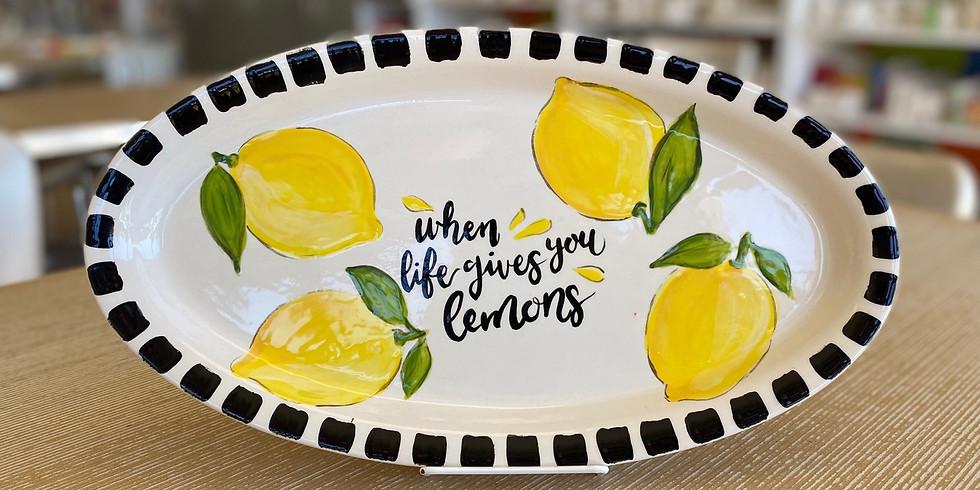 Lemon Platter Class