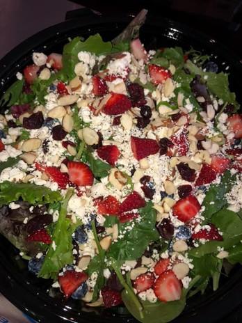 Mixed Greens Berry Salad