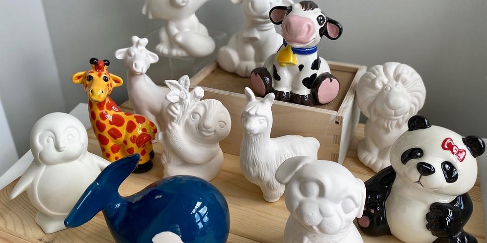 Kid's Animal Party with Amazing Glaze!