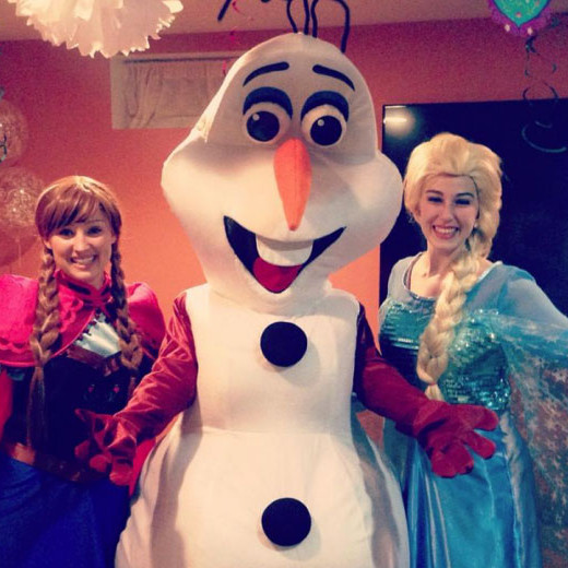 Ice Princess character party!!