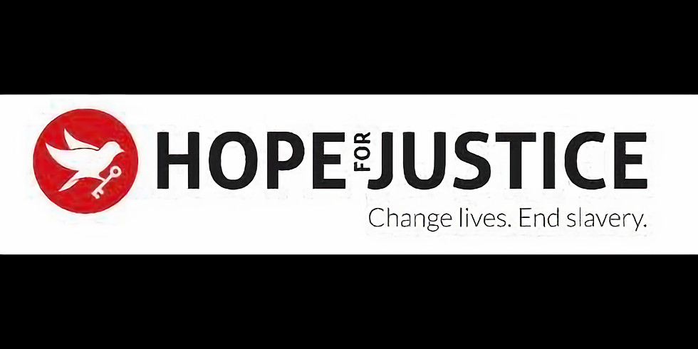 Fundraiser for Hope for Justice