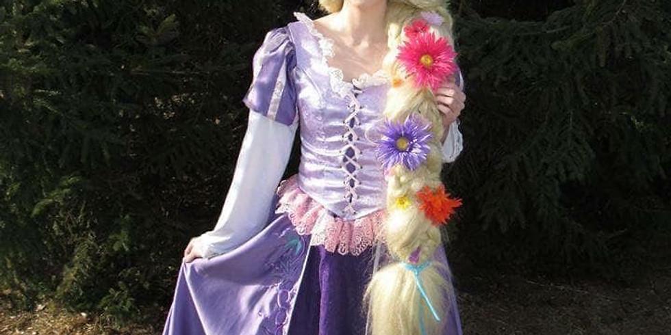 Tea with Rapunzel