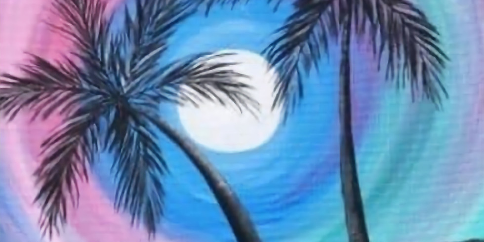 The Beach & The Moon - Paint Party