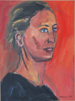 Ageliki Gerolymou, acrylic on paper mounted on canvas, 40x60cm, 2011