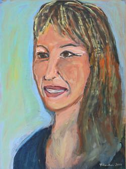 Evi Moraitidou, acrylic on paper mounted on canvas, 40x60cm, 2011(1)