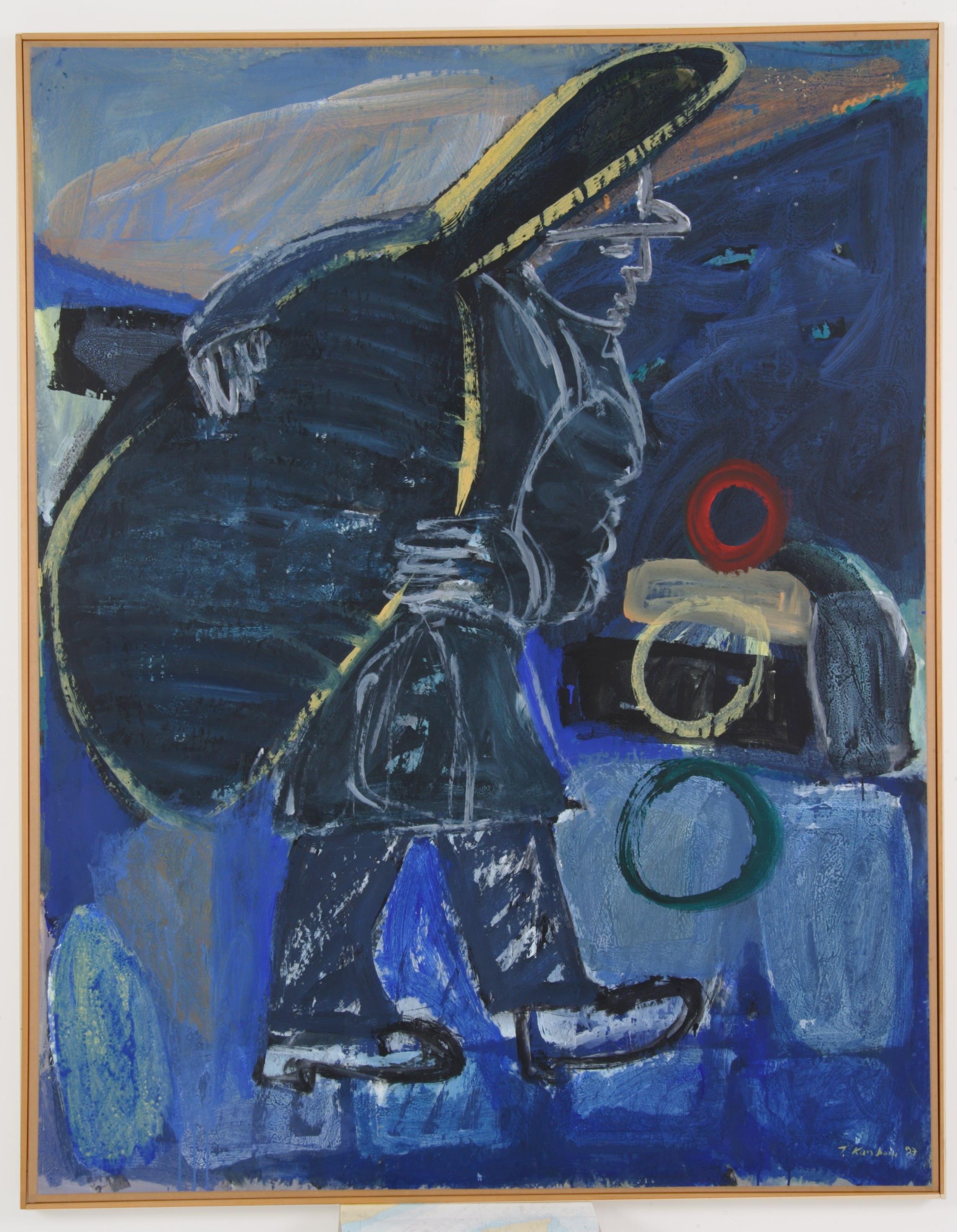 καλλιτεχνικά βάρη,1997,160x180cm