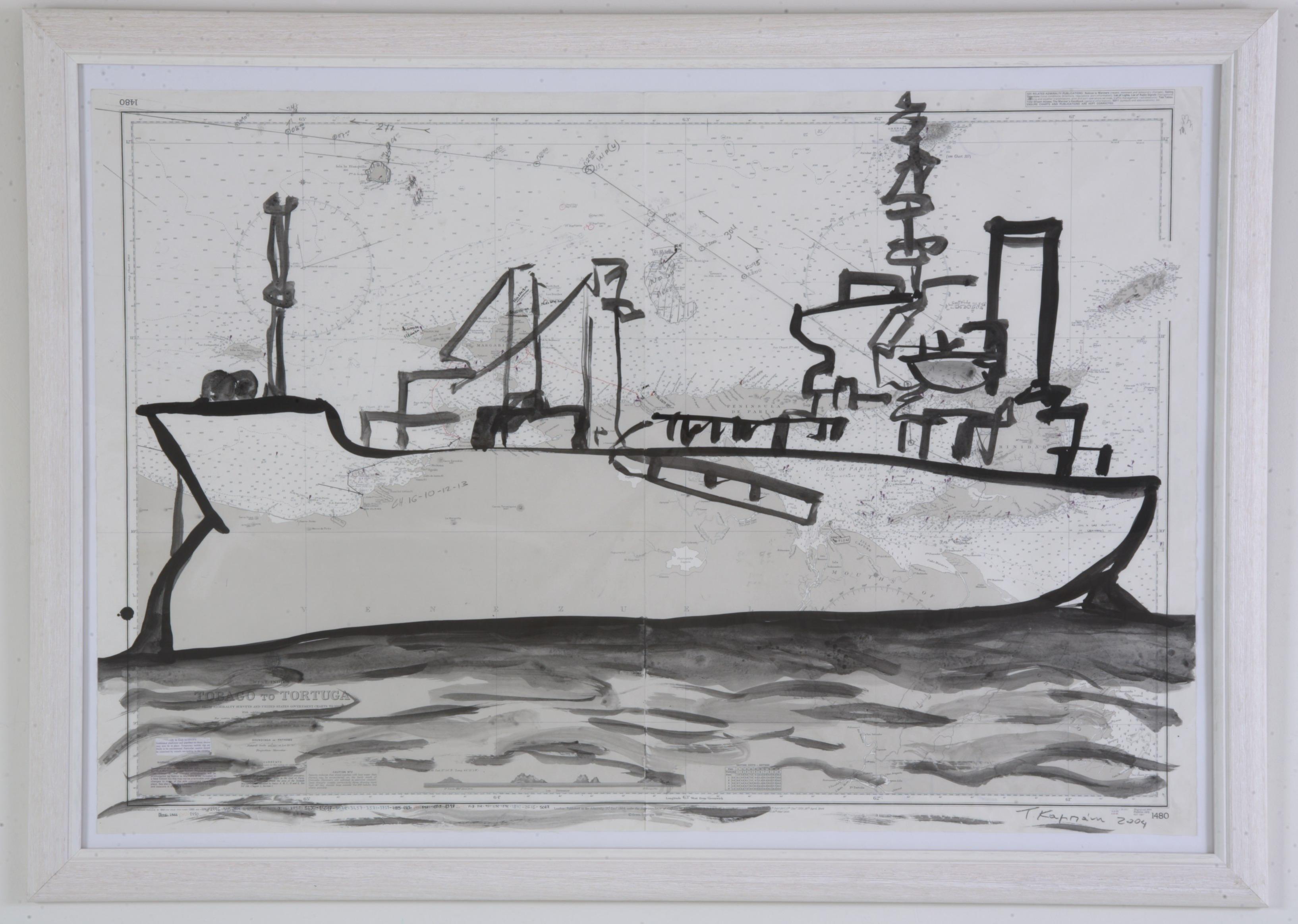 bateau No1, 2005, 103x71cm