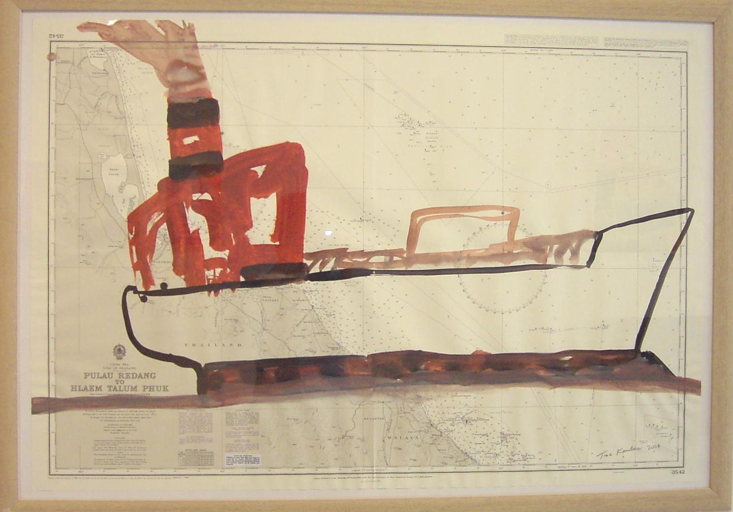 Bateau No13, 2006, 103x71cm