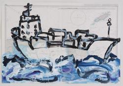 bateau No8, 2006, 103x71cm