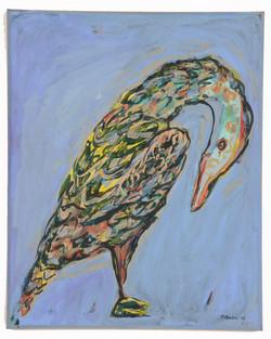 Μεσ στο γαλάζιο, 2003,70x100cm