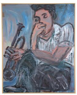 μουσικός,2000,110x140cm