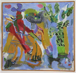 Άγρια Δύση, 1985, 130x140cm