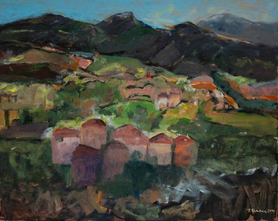Les montagnes de Collioure