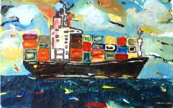 cargo,2010,140x90cm