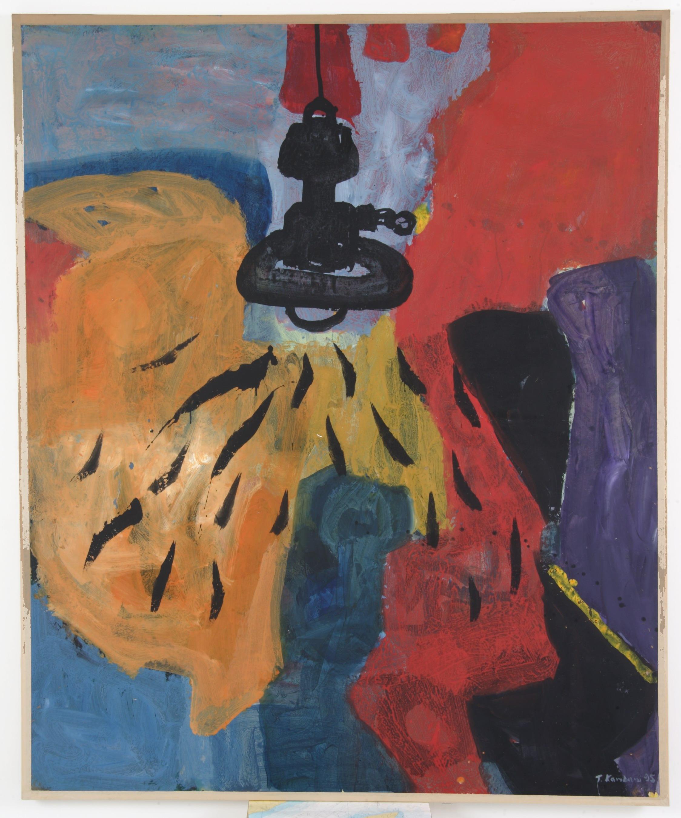 Η λάμπα, 1995, 140x170cm