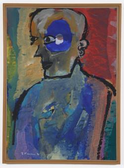 Benzamin Peret,1991,70x100cm