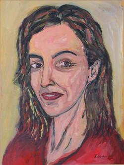 Stella Lazarou,acrylic on paper mounted on canvas, 40x60cm, 2011(1)