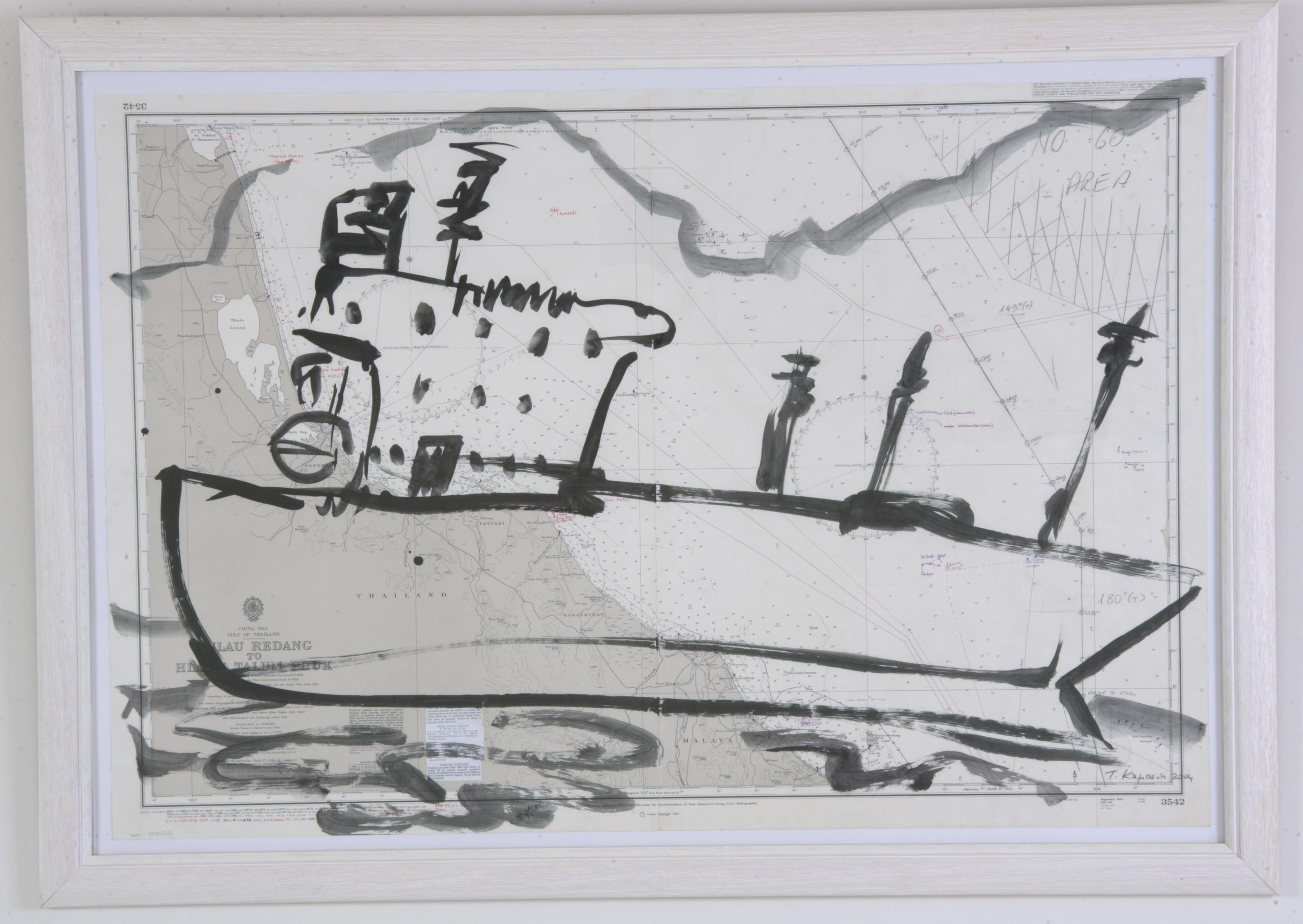 bateau No3, 2005, 103x71cm