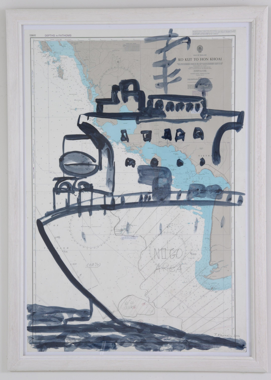 bateau No7, 2006, 103x71cm